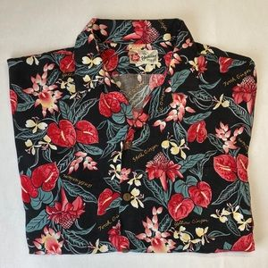 HILO HATTIE HAWAIIAN Shirt size XL